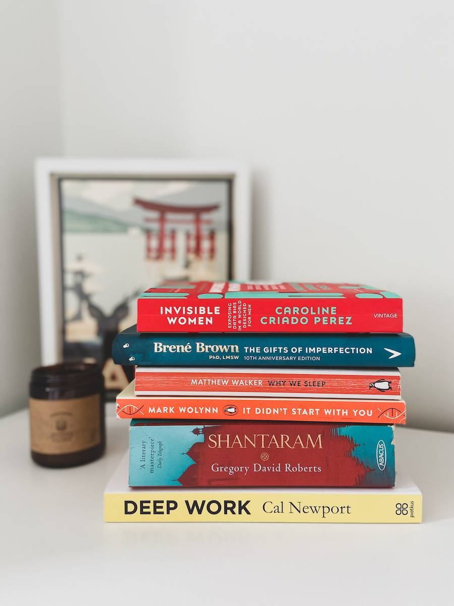 My current TBR stack for the next 6 months