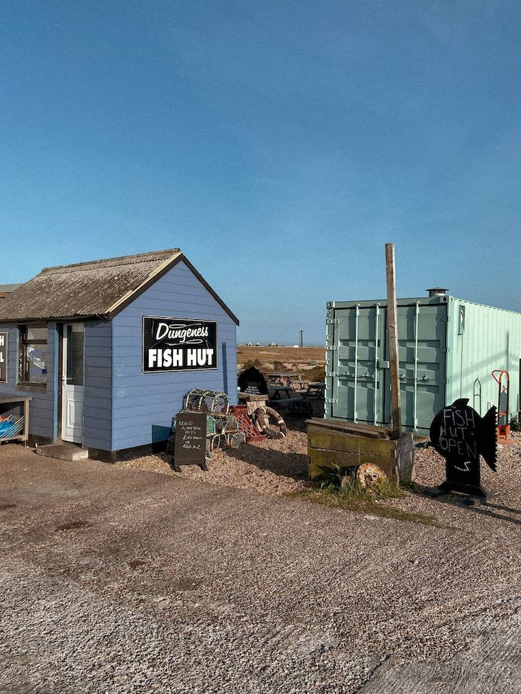 Dungeness fish hut