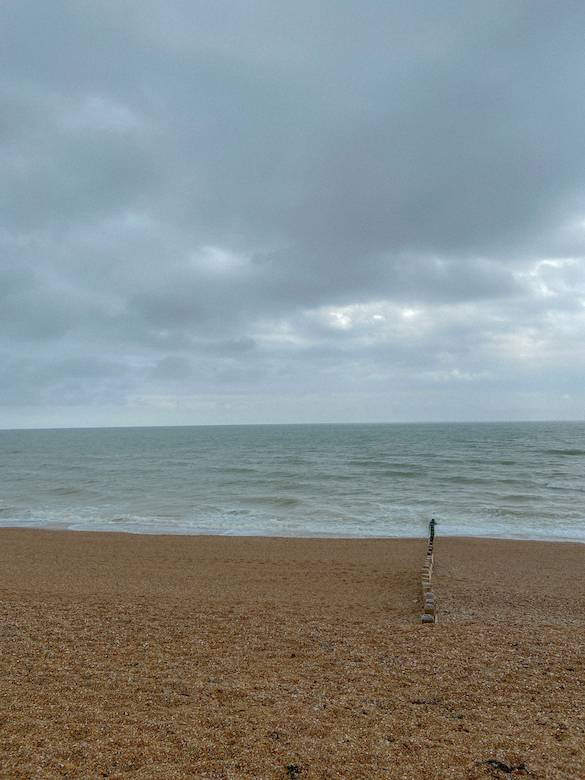Brighton seafront, one of our first stops on our uk staycation tour