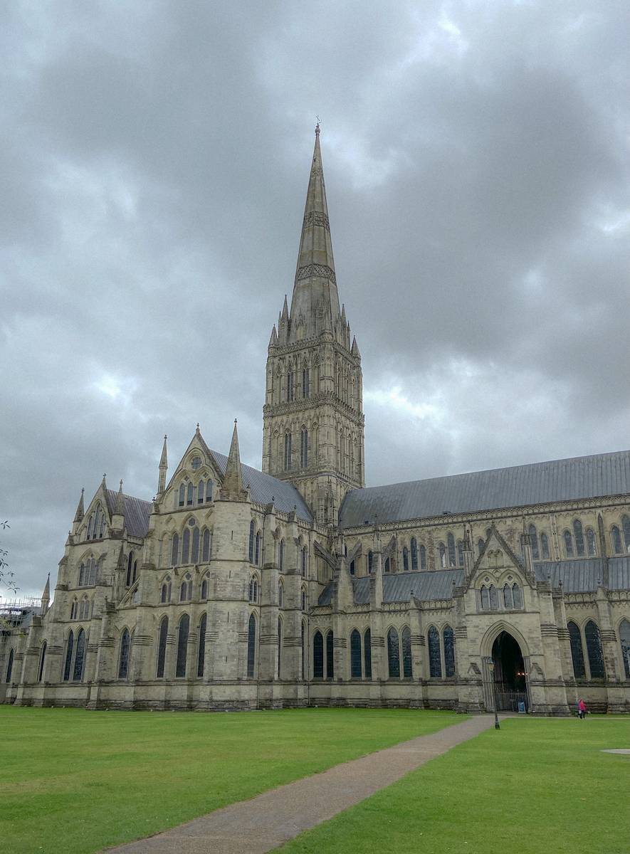 Salisbury Cathedral which was stop 3 on my UK summer staycation tour