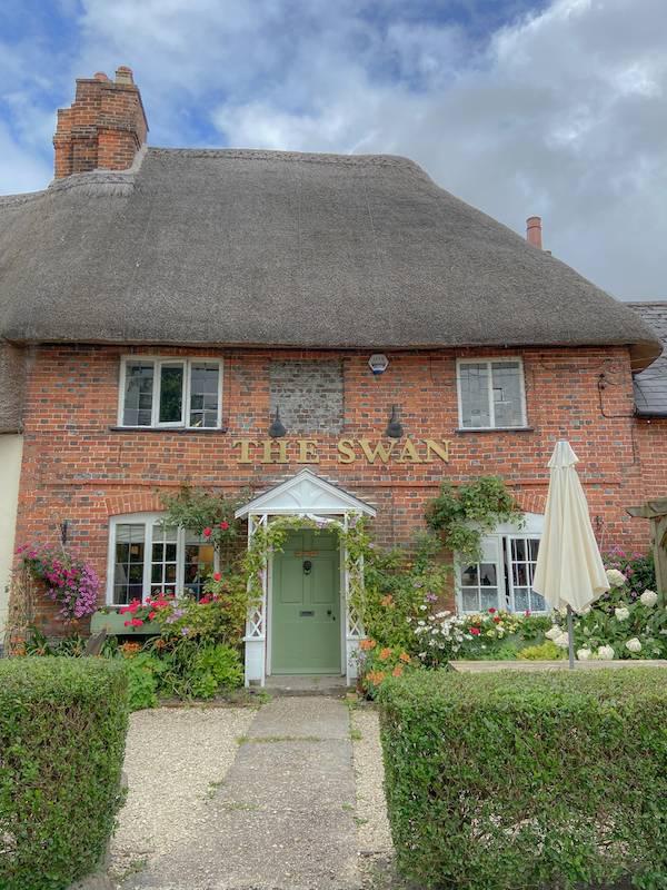 The Swan pub in Enford, near Haxton